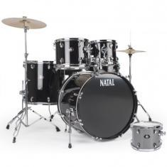 NATAL DRUMS DNA US FUSION DRUM KIT SILVER HARDWARE PACK